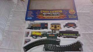 Juego Tren con Ferrocarril