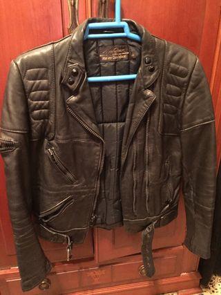 Cazadora cuero Harley Davidson