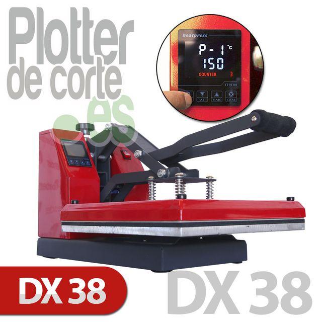 Prensa térmica DX38 de Refine