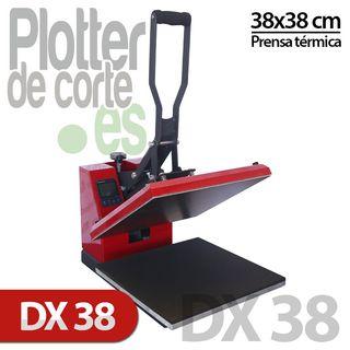 Prensa térmica para camisetas DX38