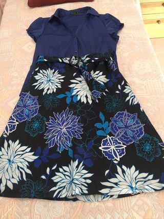 Conjunto blusa y falda Cortefiel T 44