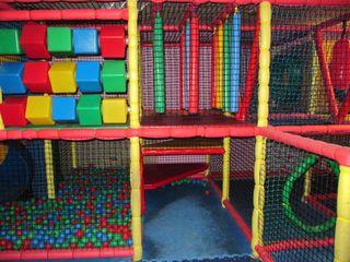 Parque infantil para interior