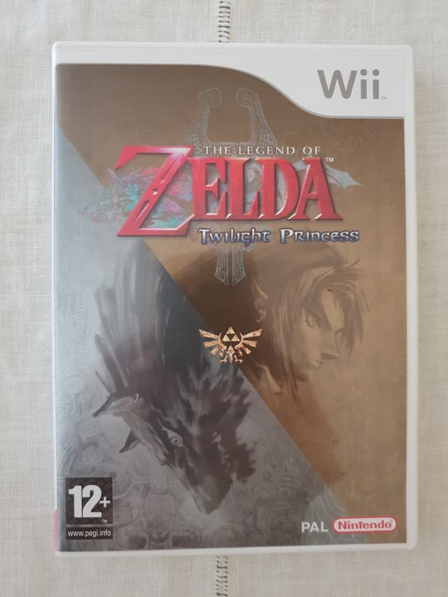 Juego The Legend Of Zelda Twilight Princess Wii De Segunda Mano Por