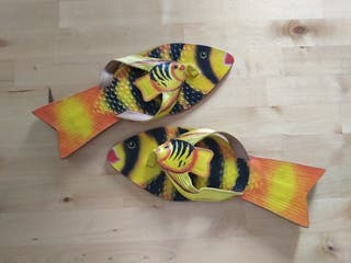 Nuevo! Sandalias pez