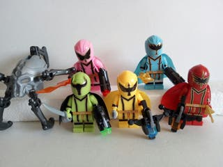 5 Power Rangers por 9€