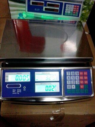 balanza inox 40kg nueva