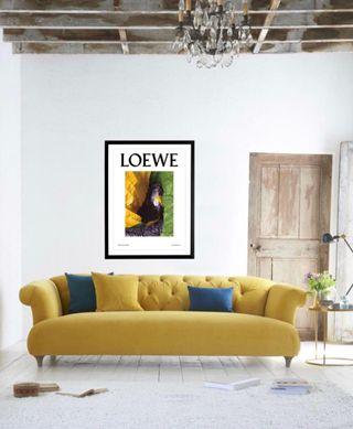 LOEWE Lámina Decoración