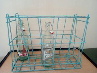 botellero,revistero ,atrezzo,vintage