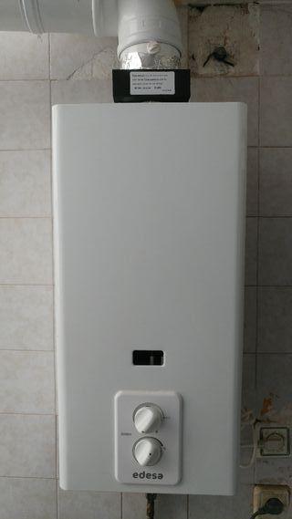 Calentador a gas natural edesa