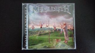 Cd Megadeth - Youthnasia