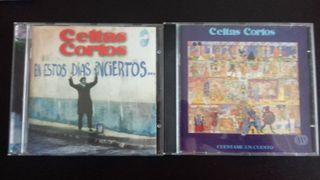 2 CD-s Celtas Cortos