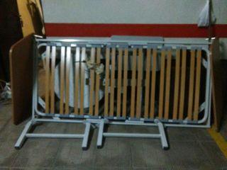 2 camas articuladas eléctricas sanitarias