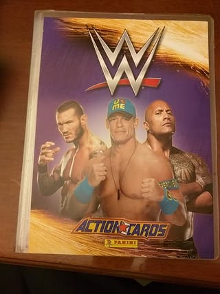 album wwe action cards 2015 panini