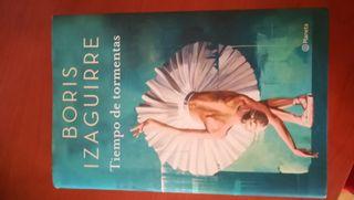 libro Tiempo de tormentas Boris Izaguirre