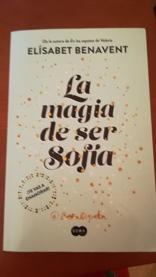 libro La Magia de ser Sofía, Elisabeth Benavent