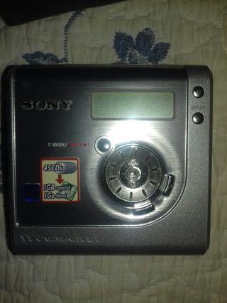 grabadora de minidisc