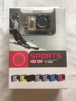 Camara deportiva HD DV nueva