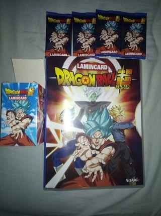Colección Dragon ball Super Lamincards