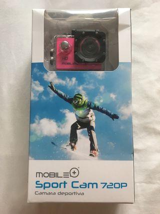 Camara deportiva mobile+ 720p
