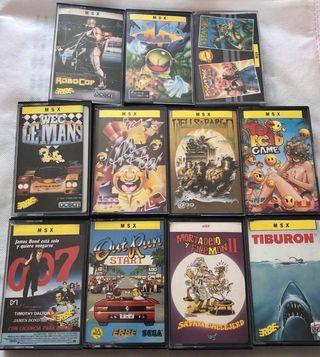 Lote juegos MSX