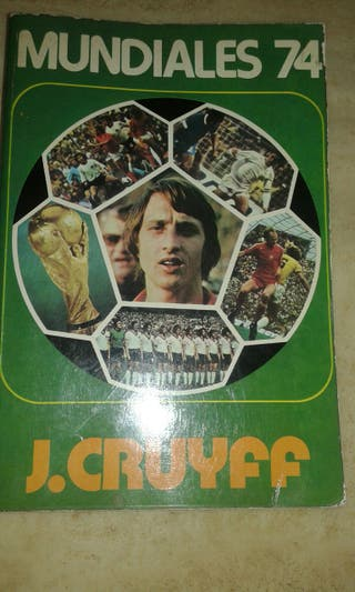 Libro antiguo de Johan cruyff