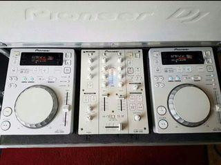 Pioneer Cdj350 x2 + Djm350 + Flightcase