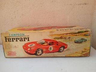 Caja coche Ferrari Paya