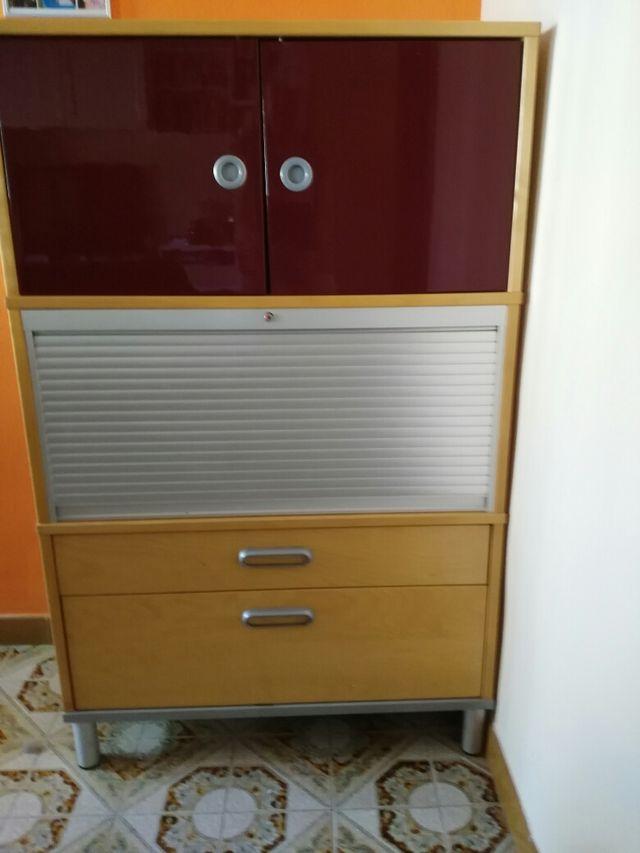 Mueble ikea para despacho o cocina/comedor de segunda mano por 50 ...