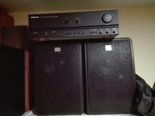 amplificador con bafles