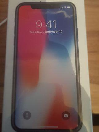 iPhone x a estrenar