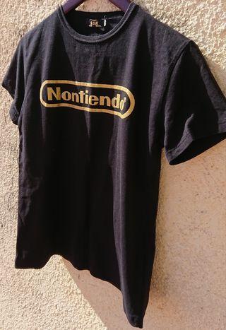 Camiseta NONTIENDO Nintendo play wii game cube