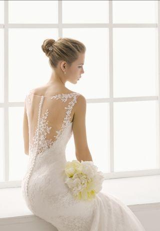 Vestido de novia Adriana Alier (NUEVO) T.42