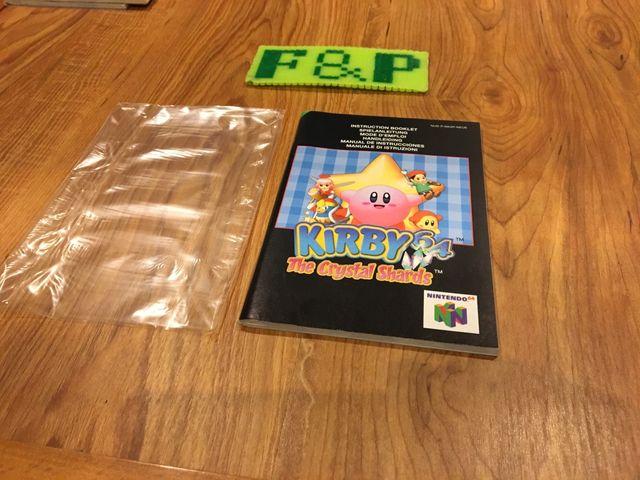 Manual Kirby 64 Nintendo 64 De Segunda Mano Por 40 En Madrid En