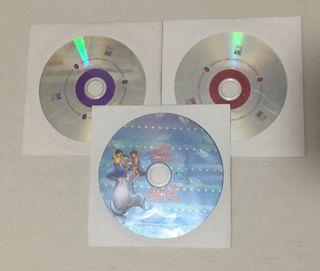 Lote cds audio y cd-rom disney año 1998