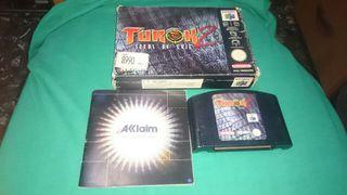 Turok 2 Nintendo 64 (ENVIO INCLUIDO)