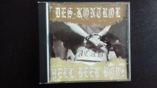 Cd compartido Des-kontrol - Hell beer boys