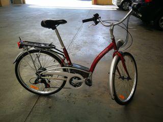 bicicleta marca decathlon