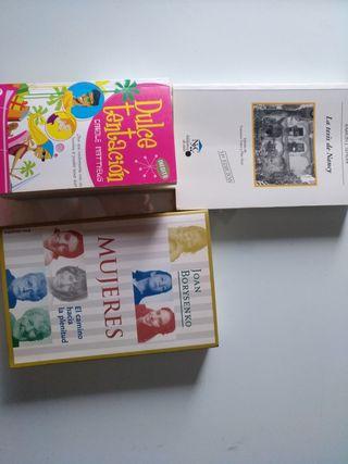 pax de tres libros