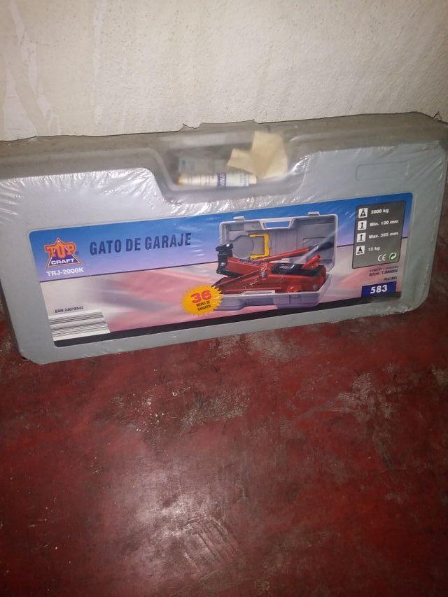 gato de garaje hidraulico