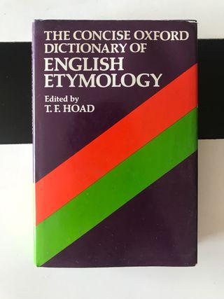 Diccionario etimologico ENGLISH ETYMOLOGY