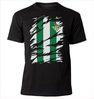 Camiseta BETIS RASGADO y musho Betis nueva
