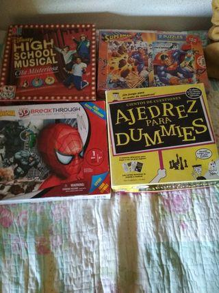 lote de juegos todo cinco euros