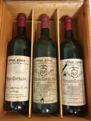 Coleccion vinos Vega Sicilia