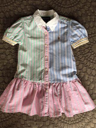 Vestido niña Ralph Lauren