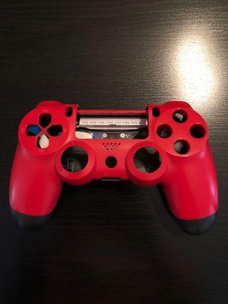 Carcasa mando PS4 Original Roja