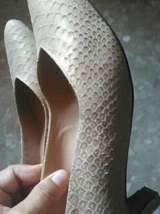Zapato Segunda Mano Del 24 Por Nuevo Firma Corte De Platino Ingles FCqFr