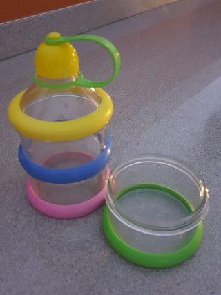 dosificador leche en polvo bebe