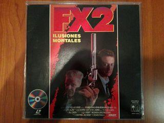 FX 2 - Ilusiones mortales - LaserDisc