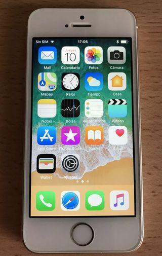 iPhone SE oro LIBRE con cargador
