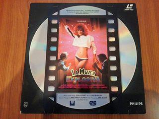 La mujer explosiva - LaserDisc